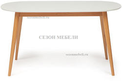 Обеденная группа (стол Max и стулья Maxi) натуральный. Вид 2