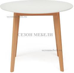 Обеденная группа (стол Bosco и стулья Maxi) натуральный. Вид 2