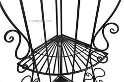 Этажерка угловая Secret De Maison 001 черный. Вид 2