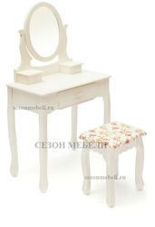Туалетный столик с зеркалом и табуретом Coiffeuse (Куэфюз) HX15-075. Вид 2