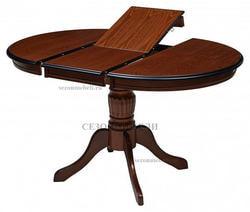 Стол TS Olivia OL-T4EX(AV) D106 (Espresso). Вид 2