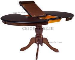 Стол TS Olivia OL-T4EX(AV) Dark Walnut D106. Вид 2