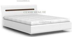 Кровать Ацтека LOZ90,140,160,180х200 белый/белый блеск. Вид 2