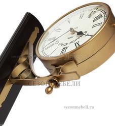 Часы cтанционные с двумя циферблатами Secret de Maison (mod. 37049). Вид 2