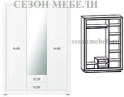 Шкаф 3-дверный Мальта (Malta) SZF3D2S. Вид 2