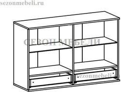 Шкаф настенный Лайк (Like) SFW2W2S_8_12 (с подсветкой). Вид 2