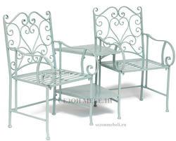 Комплект Tet-a-Tet (mod. PL08-34283B) (столик+ 2 кресла). Вид 2