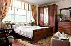 Кровать Кентаки LOZ140/160/180x200 каштан. Вид 2