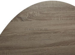 Стол журнальный WOOD 62S #4 дуб серо-коричневый винтажный. Вид 2