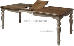 Стол LT T18331 OAK #K558/ MILKY GREY #G48. Вид 2