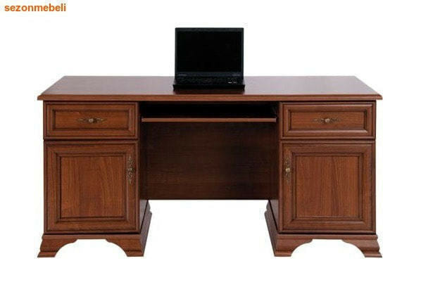 Стол письменный Кентаки BIU2D2S каштан (фото)