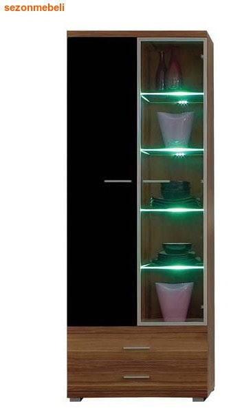 Шкаф-витрина Метис REG 1W1D2S 20/8 (фото)