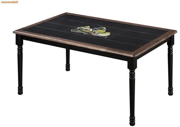 Стол обеденный с плиткой СТ 3760Р (венге) (фото)