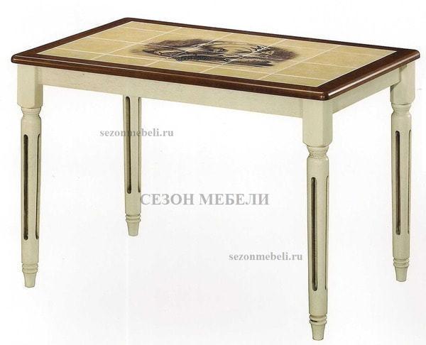 Стол обеденный с плиткой ДУБАЙ (CT 3045 LEG H) (фото)