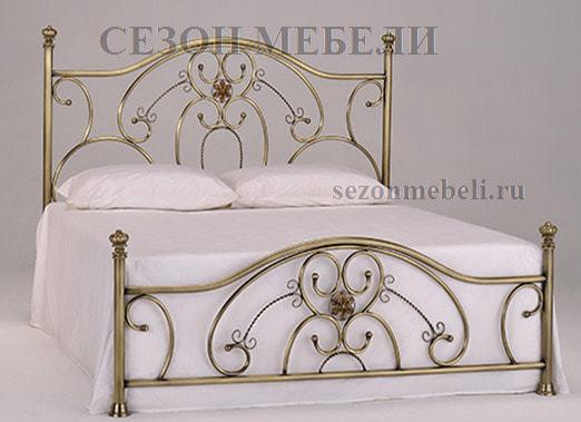 Кровать Elizabeth (Элизабет) ан.9701 античная медь (фото)
