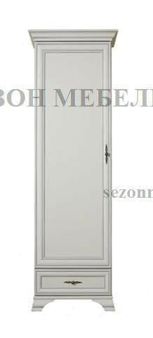 Шкаф Кентаки REG1D1S белый (фото)