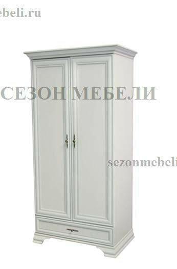 Шкаф Кентаки SZF2D1S белый (фото)