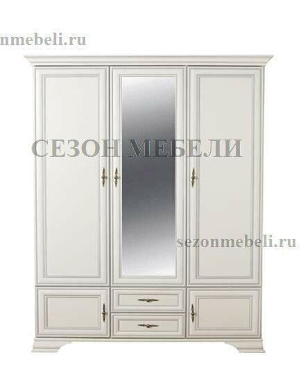 Шкаф Кентаки SZF5D2S белый (фото)