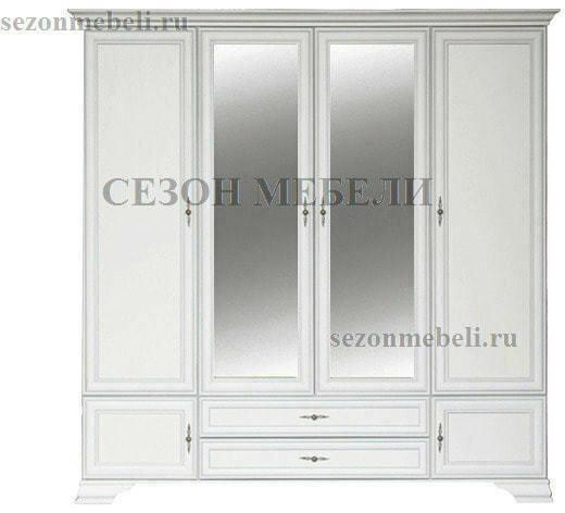 Шкаф Кентаки SZF6D2S белый (фото)