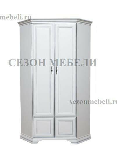 Шкаф угловой Кентаки SZFN2D белый (фото)