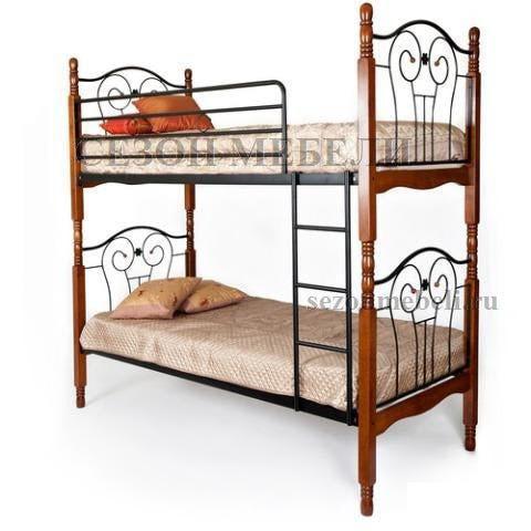 Кровать двухъярусная AT-608 (фото)