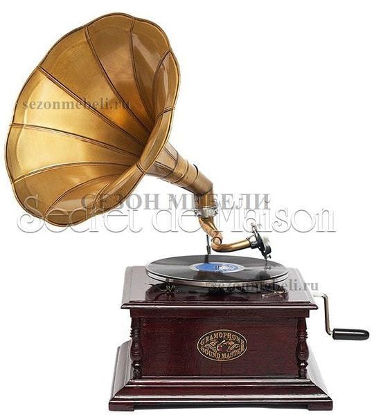 Граммофон Secret De Maison Pushkin (mod. GRSQ) (фото)