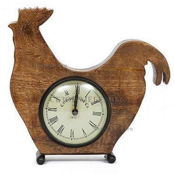 Часы колониальные Петушок C-1530 (фото)