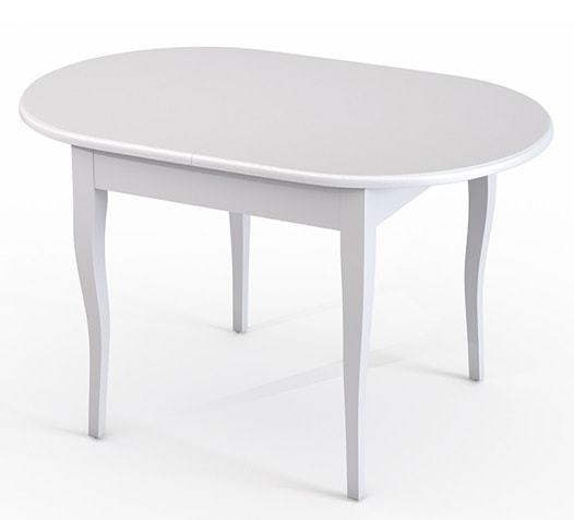 Стол обеденный Лемур белая эмаль (фото)
