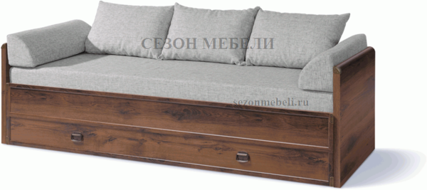 Кровать раздвижная Индиана JLOZ 80/160 дуб саттер (фото)
