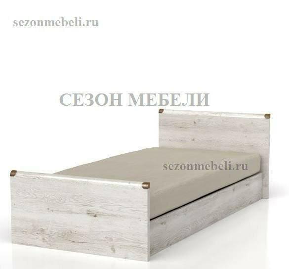 Кровать Индиана JLOZ 90/ JLOZ160x200 сосна каньйон (фото)