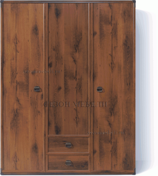 Шкаф Индиана JSZF 3d2s дуб саттер (фото)