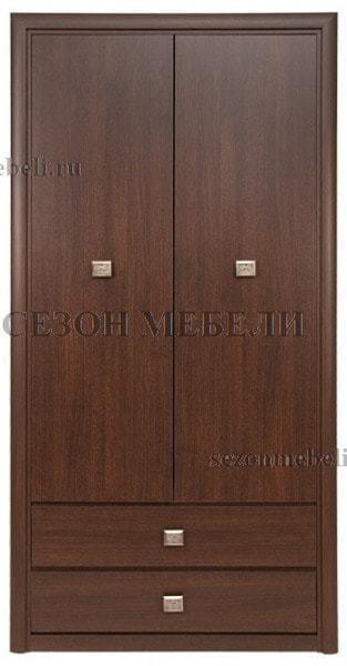Шкаф платяной Коен SZF2D2S венге магия (фото)