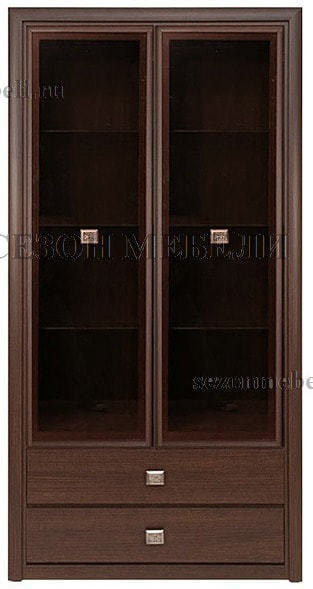 Витрина 2-дверная Коен REG2W2S венге магия