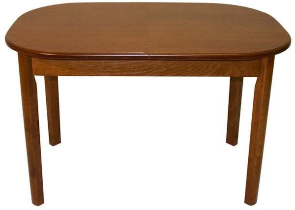 Стол обеденный овальный ВМ30 (коньяк) (фото)
