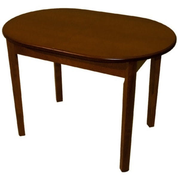 Стол обеденный овальный ВМ40 (коньяк) (фото)