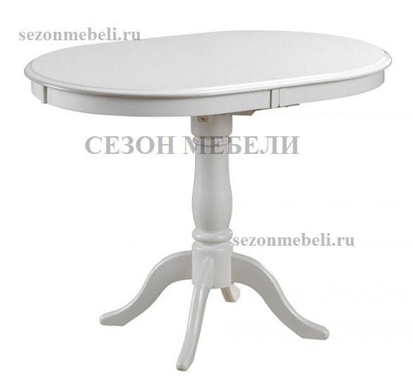 Стол Solerno (ME-T4EX) Ivory white/ Butter white (фото)
