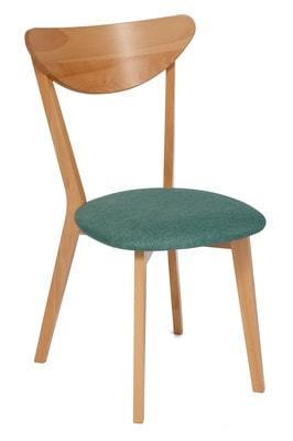 Стул MAXI (Макси) мягкое сиденье/ цвет сиденья - Морская волна (фото)