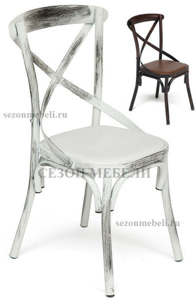 Стул металлический Cross chair (фото)