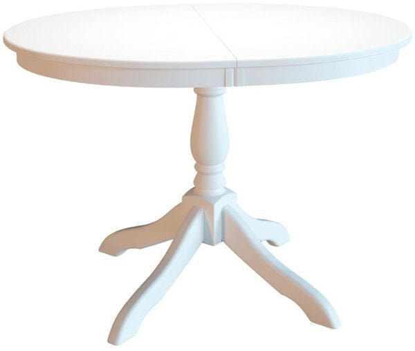 Стол обеденный Романс белая эмаль