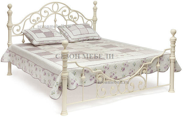 Кровать Victoria (Виктория) 9603 (слоновая кость) (фото)