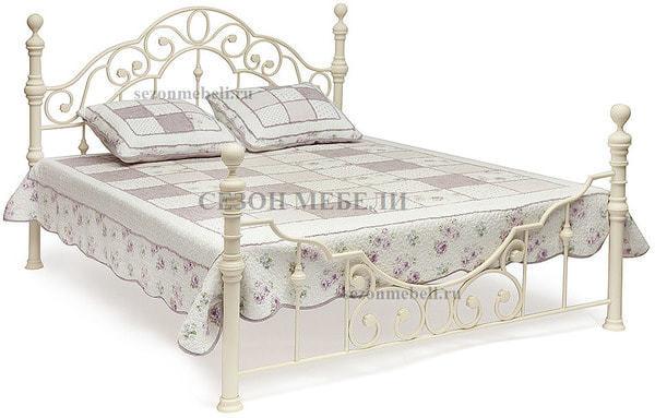 Кровать Victoria (Виктория) 9603 (античный белый) (фото)