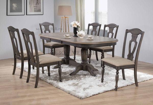 Обеденная группа (стол LT T17316 и стулья LT C17451) (фото)