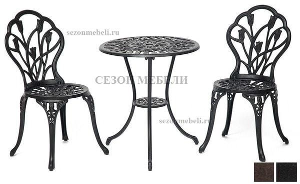 Комплект Secret De Maison Waltz of flowers (стол +2 стула) Вальс цветов (фото)