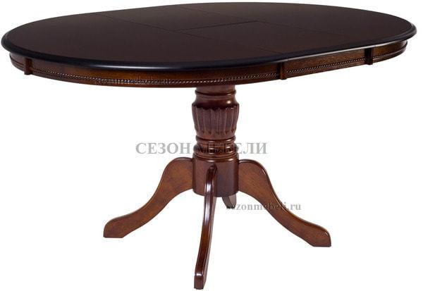 Стол TS Olivia OL-T4EX(AV) Dark Walnut D106 (фото)