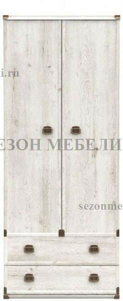 Шкаф Индиана JSZF 2d2s сосна каньйон (фото)