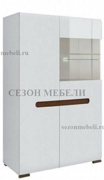 Шкаф Ацтека REG1W1D/14/9 белый/белый блеск (фото)