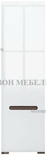 Шкаф Ацтека SZF1D/21/6 белый/белый блеск