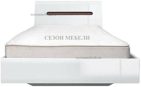 Кровать Ацтека LOZ90,140,160,180х200 белый/белый блеск (фото)