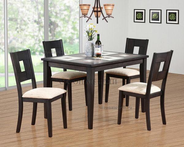 Обеденная группа (стол LT T15344 и стулья LT C14372)
