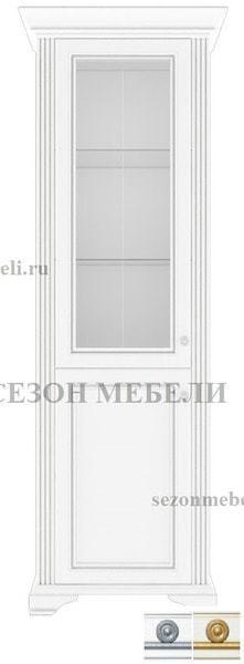 Шкаф - Витрина 1-дверный Вайт 1D1W (фото)